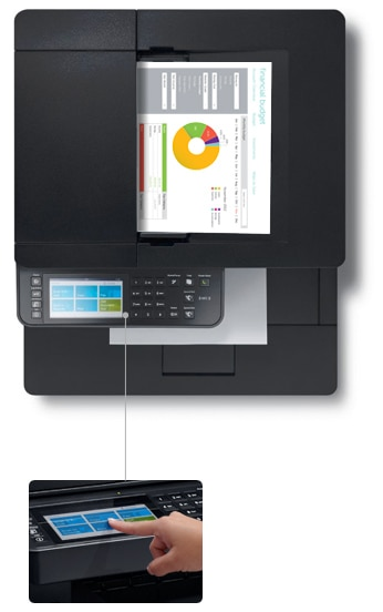 Dell Color Multifunction Printer | C2665dnf - Easy to use and secure