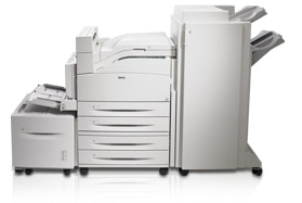 Dell 7330dn laser printer with options to increase capacity