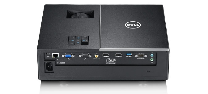 Dell Projector - 1550 | Easy to connect and manage