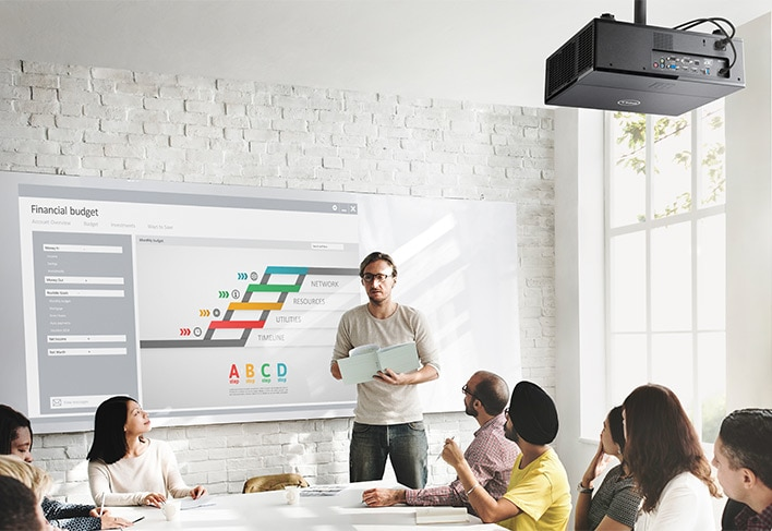 Dell Advanced Projector - 7760 | Brilliant multi-angle projection