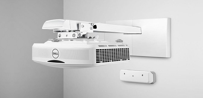 Dells interaktiva projektor med pekfunktion - S560T | Enkel installation. Praktiska anslutningar