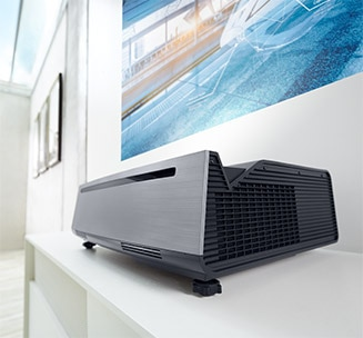 Dell Projector S718QL - Sprawling views have never been closer