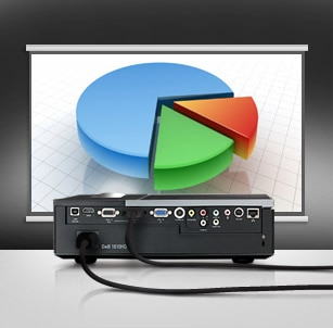 Dell 1610HD Projector - Easy to Manage & Control