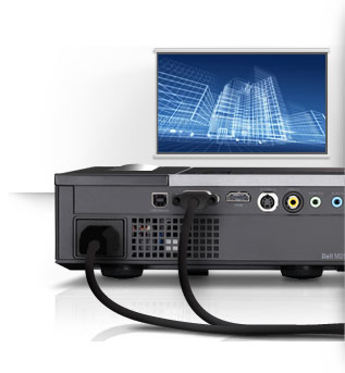 Dell M210X Projector - Control in the Palm of Your Hand