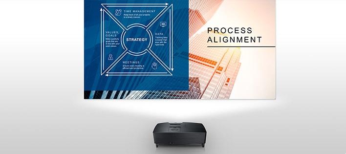 Proyector Dell P318S: Haga que sus ideas cobren vida