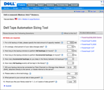 Dell Tape Automation Sizing Tool