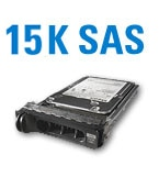 SAS drives are used for high performance storage