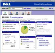 Dell PowerVault MD3000 complete management