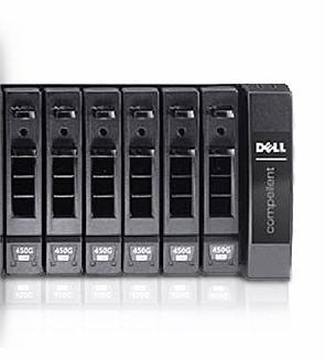 Dell/Compellent Storage Center SAN:磁碟機櫃