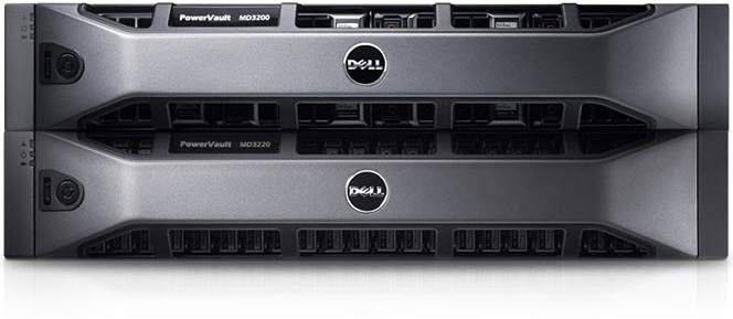 Dell PowerVault MD3200/MD3220 SAS Storage Array - High Performance, flexibility and Scalability