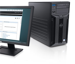 PowerVault NX200 Tower Network Attached Storage (NAS): Do-it-yourself file consolidation