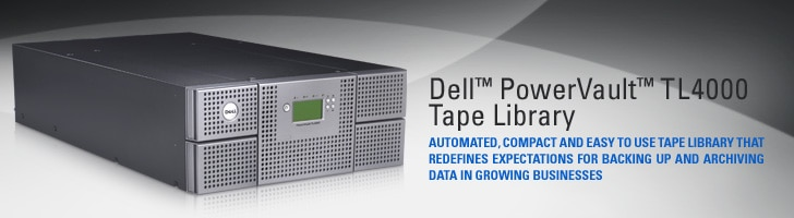 Dell PowerVault TL4000 Tape Library