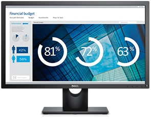 Dell Refurbished 24 inch Monitor - SE2416HX