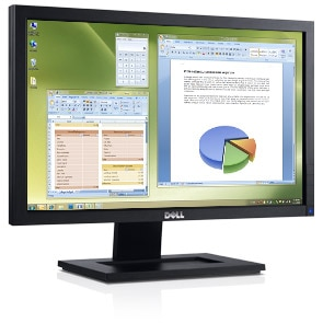 Dell E Series E2011H 20 inch W Monitor with LED