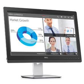 Dell Refurbished 23 Multimedia Monitor -UZ2315H