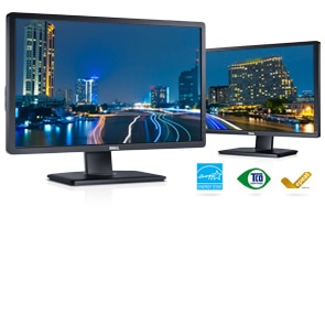 Dell P2412H 24 inch W Monitor with LED