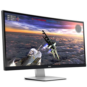 Dell UltraSharp 34 Curved Ultrawide Monitor | U3415W