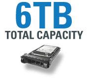 6TB Total Capacity