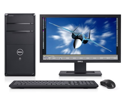 dell vostro 470 mini tower desktop - eye-popping visual performance
