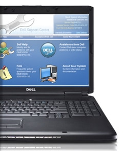 Dell Vostro Laptop Support Center