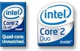 Intel® Core™2 and Core™2 Quad logos