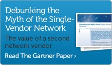 The value of a second network vendor