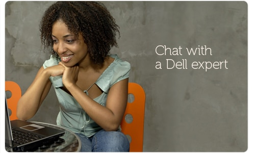 Chat with a Dell expert