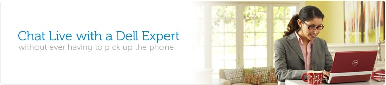 Call or chat with a Dell expert