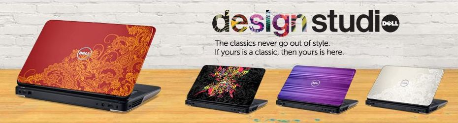 Dell Design Studio Designs Available For Your Laptop Dell India