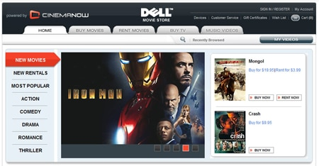 Download more with Dell / CinemaNow Media Manager. Get it now!