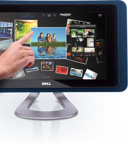 Computadora Dell Studio One 19 y Windows 7 - Dell Touch Zone
