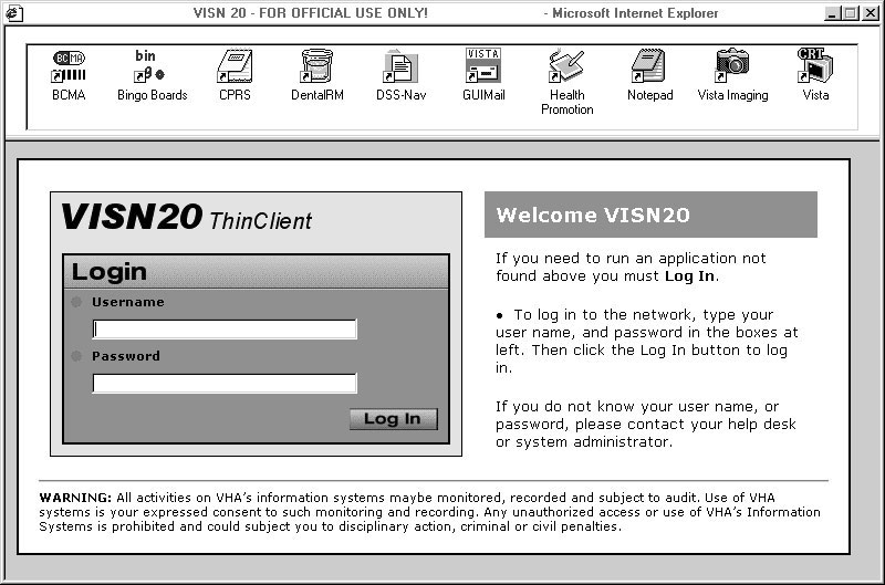Veteran's Health Administration Adopts Server-based