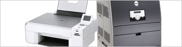 Dell Printers and Scanners Category Main Page