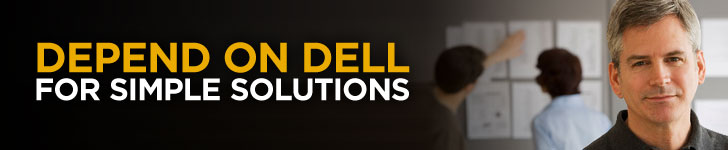 Depend on Dell for Simple Solutions