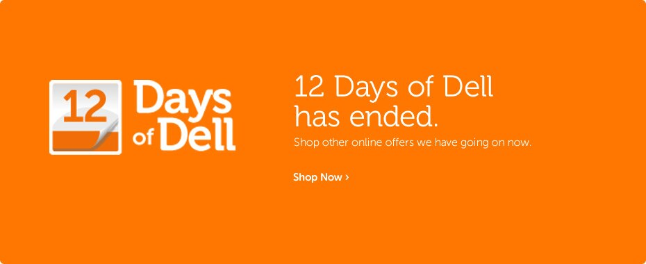 12 Days of Dell has ended.
