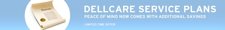 DellCare Service Plans - Peace of Mind Now Comes With Additional Savings - Limited Time Offer