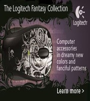 The Logitech Fantasy Collection. | Learn More.