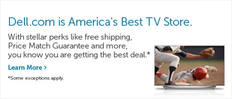 Dell.com is America's best TV store