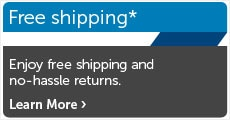 Dell free shipping and returns
