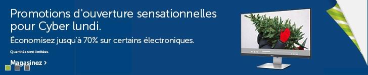 Solde sur les électroniques