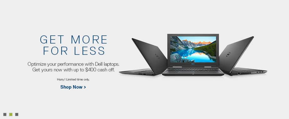 Dell Desktops and Laptops / Notebooks