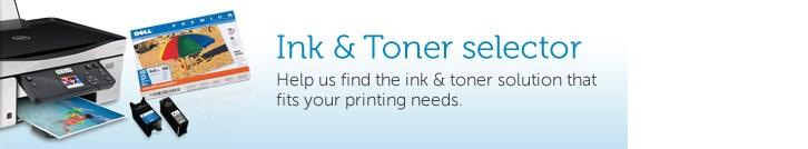 Ink & Toner selector