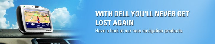 WITH DELL YOU'LL NEVER GET LOST AGAIN