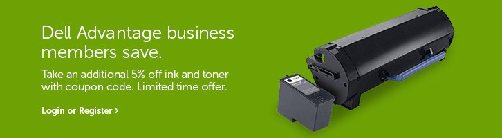 Dell Advantage business members save.