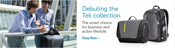 Debuting the Tek collection.