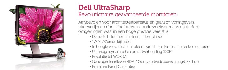 Dell UltraSharp-monitoren