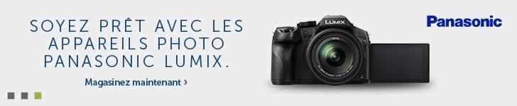 Les appareils photo Panasonic Lumix