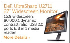 Dell UltraSharp U2711 27-inch creen Monitor