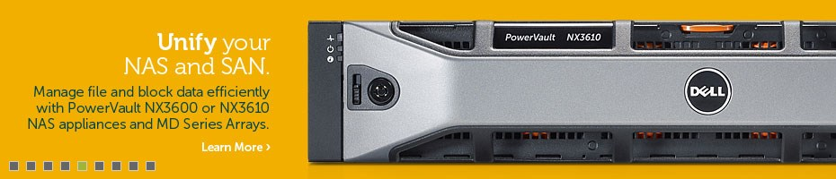 Storage PowerVault NX3600