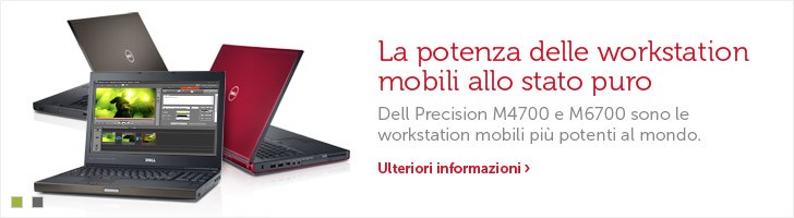 Workstation Dell Precision M4700 e M6700